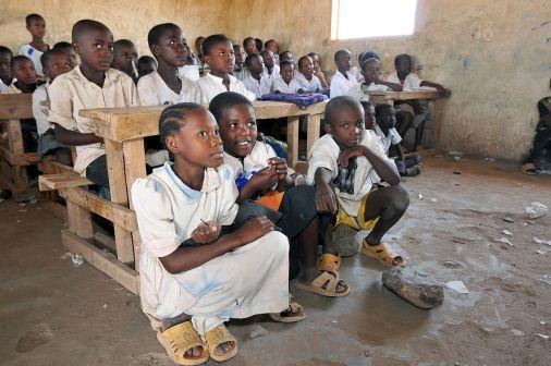 School Children in Kenya